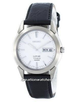 Seiko Titanium Quartz Sapphire SGG727P2 Men's Watch