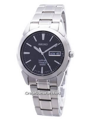 Seiko Titanium Sapphire SGG731 SGG731P1 SGG731P Men's Watch