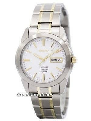 Seiko Titanium Sapphire SGG733 SGG733P1 SGG733P Men's Watch