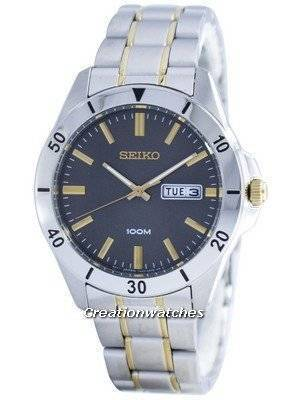 Seiko Quartz Analog SGGA83 SGGA83P1 SGGA83P Men's Watch