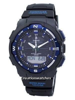 Casio OutGear Twin Sensor World Time SGW-500H-2BV SGW500H-2BV Men's Watch