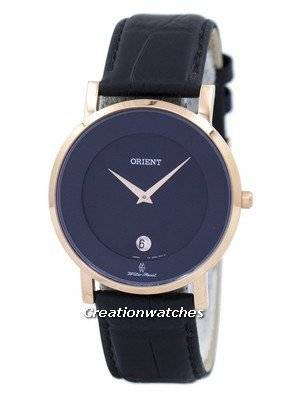 Orient Analog Quartz Japan Made SGW0100BB0 Women's Watch