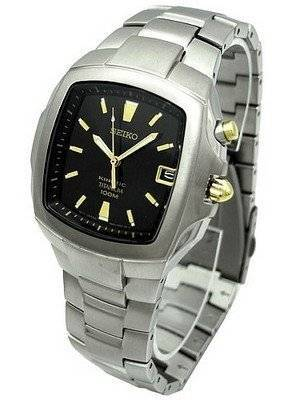Seiko Kinetic Titanium Mens Watch SKA361P1 SKA361P SKA361