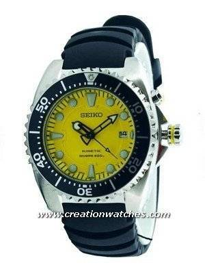 Seiko Kinetic Diver's Watch 200m SKA367P2 SKA367P SKA367