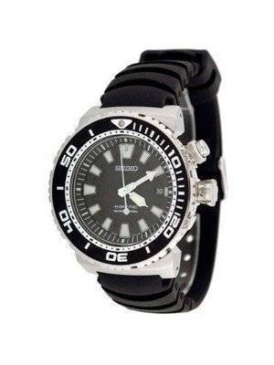 Seiko Men's Kinetic Watch with Rubber Strap Model SKA383P2