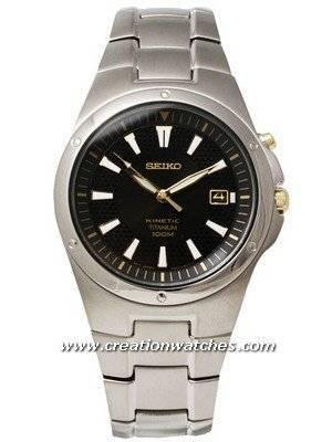 Seiko Kinectic Titanium SKA399 SKA399P1 SKA399P Men's Watch