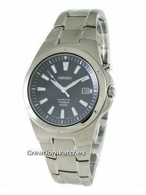 Seiko Kinetic Titanium SKA415P1 SKA415P SKA415 Mens Watch