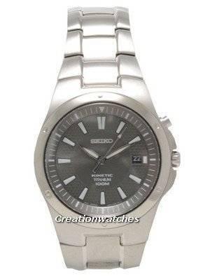 Seiko Kinetic Titanium SKA417P1 SKA417P SKA417 Men's Watch
