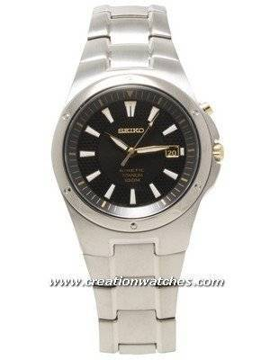 Seiko Kinetic Titanium SKA419P1 SKA419P SKA419 Men's Watch