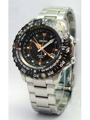 Seiko Kinetic Conceptual Multifunction Pilot's Watch SKA423P1