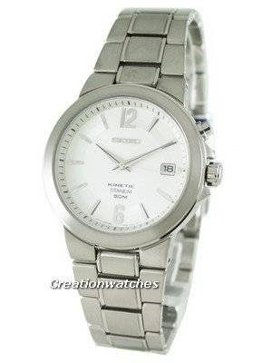Seiko Kinetic Titanium SKA479P1 SKA479P SKA479 Mens Watch