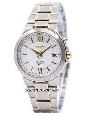 Seiko Kinetic Titanium SKA485 SKA485P1 SKA485P Men's Watch