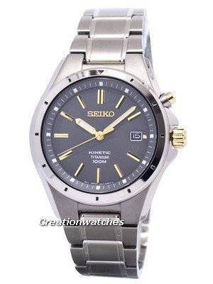 Seiko Kinetic Titanium SKA495 SKA495P1 SKA495P Men's Watch