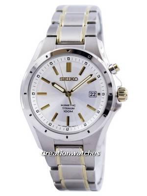 Seiko Kinetic Titanium SKA497P1 SKA497P SKA497 Mens Watch