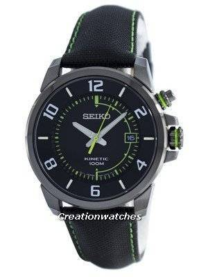 Seiko Kinetic Power Reserve SKA557 SKA557P1 SKA557P Men's Watch