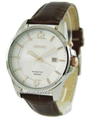 Seiko Kinetic 100M SKA669 SKA669P1 SKA669P Men's Watch