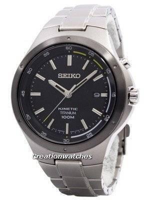 Seiko Kinetic Titanium Power Reserve SKA715 SKA715P1 SKA715P Men's Watch
