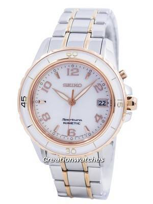 Seiko Sportura Kinetic SKA878 SKA878P1 SKA878P Women's Watch