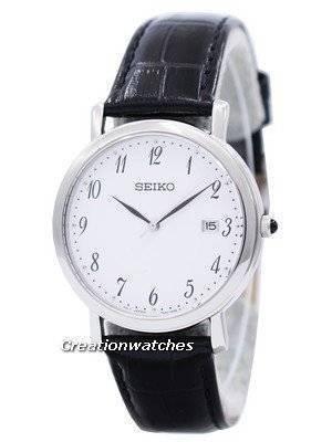 Seiko Quartz Leather Strap SKK647 SKK647P1 SKK647P Men's Watch