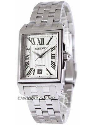 Seiko Premier Quartz SKK715P1 SKK715P Men's Watch