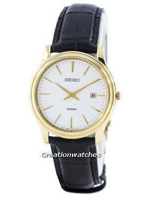 Seiko Classic Quartz Analog SKP350 SKP350P1 SKP350P Men's Watch