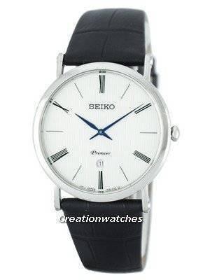 Seiko Premier Quartz SKP395 SKP395P1 SKP395P Men's Watch