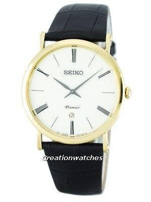 Seiko Premier Quartz SKP396 SKP396P1 SKP396P Men's Watch