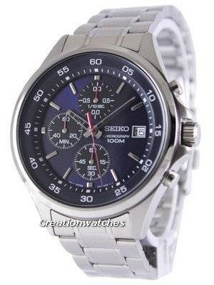 Seiko Chronograph Quartz 100M SKS475P1 SKS475P Men's Watch