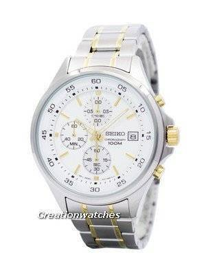 Seiko Chronograph Quartz 100M SKS479 SKS479P1 SKS479P Men's Watch