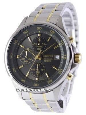 Seiko Chronograph Quartz 100M SKS481 SKS481P1 SKS481P Men's Watch