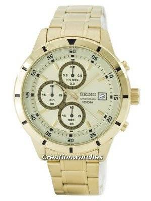 Seiko Quartz Chronograph SKS566 SKS566P1 SKS566P Men's Watch