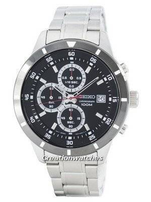 Seiko Quartz Chronograph SKS569 SKS569P1 SKS569P Men's Watch