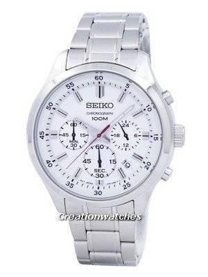 Seiko Chronograph Quartz SKS583 SKS583P1 SKS583P Men's Watch