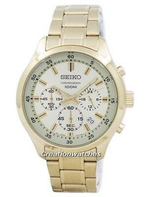 Seiko Chronograph Quartz SKS592 SKS592P1 SKS592P Men's Watch