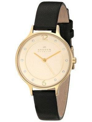 Skagen Anita Gold-Tone Crystallized SKW2266 Women's Watch