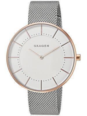 Skagen Gitte Quartz Steel Mesh Strap SKW2583 Women's Watch