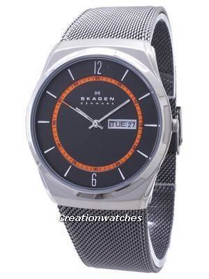 Skagen Melbye Titanium Case with Mesh Band SKW6007 Men's Watch