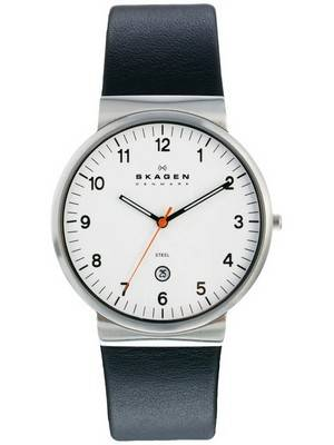Skagen Klassic Ancher Leather Quartz SKW6024 Women's Watch