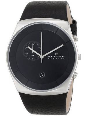 Skagen Havene Chronograph Quartz Black Dial SKW6070 Men's Watch