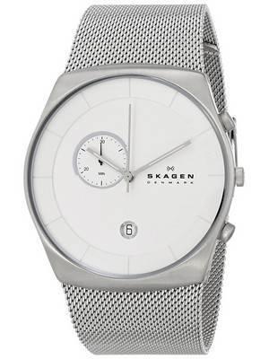 Skagen Havene Chronograph Quartz Silver Dial SKW6071 Men's Watch