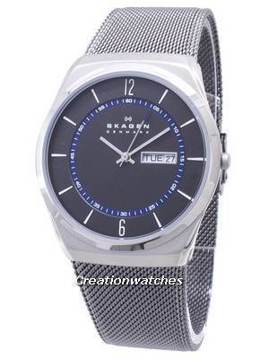 Skagen Melbye Grey Titanium Mesh Strap SKW6078 Men's Watch