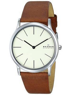 Skagen Theodor Quartz Stainless Steel Beige Dial SKW6083 Men's Watch
