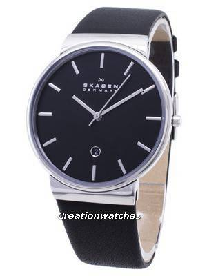 Skagen Ancher Quartz Black Dial SKW6104 Men's Watch