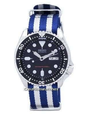 Seiko Automatic Diver's 200M NATO Strap SKX007K1-NATO2 Men's Watch