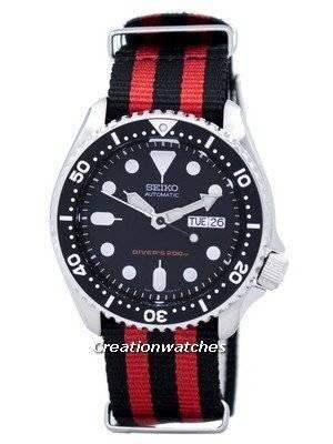 Seiko Automatic Diver's 200M NATO Strap SKX007K1-NATO3 Men's Watch