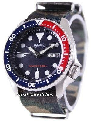 Seiko Automatic Diver's 200M Army NATO Strap SKX009K1-NATO5 Men's Watch