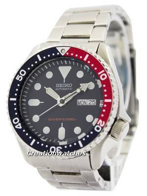 Seiko Automatic Diver's 200M Oyster Strap SKX009K3-Oys Men's Watch