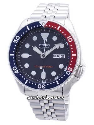 Seiko Automatic Diver\'s 200M Jubilee Bracelet SKX009K2 Men\'s Watch