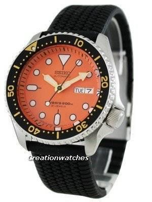Seiko Automatic Diver 200m Japan SKX011J5-Sil Watch