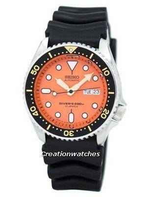 Seiko Automatic Diver's 200m Japan-made SKX011 SKX011J1 SKX011J Men's Watch